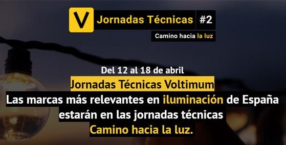 "iGuzzini participa en ""Jornadas Técnicas Voltimum. Camino hacia la luz."""