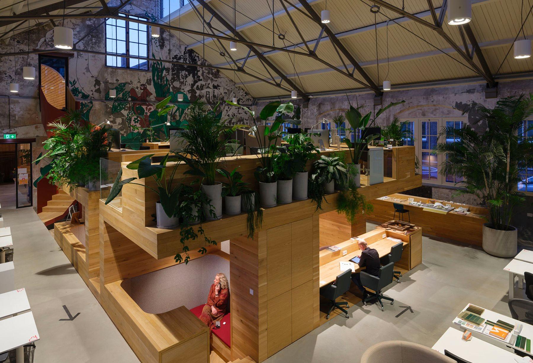 The Vakwerk architectural studio headquarters