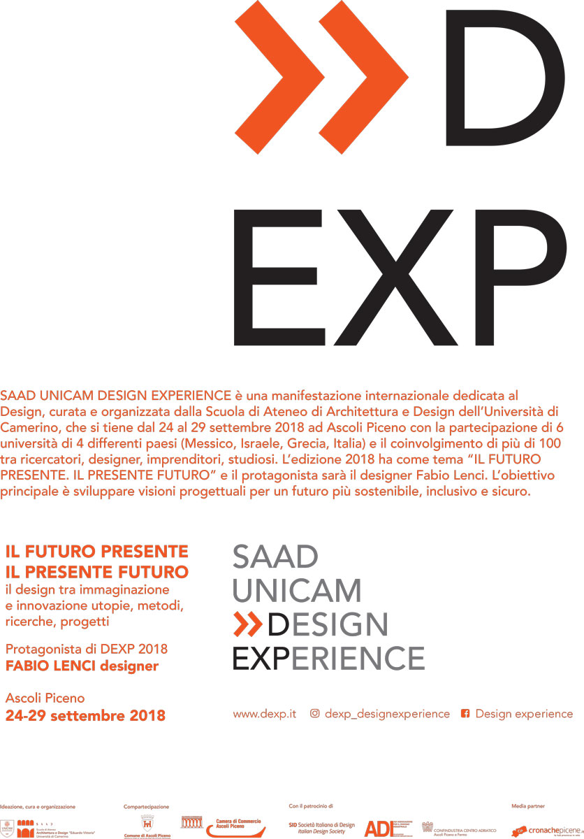 First edition of the Ascoli Piceno Design Experience Week