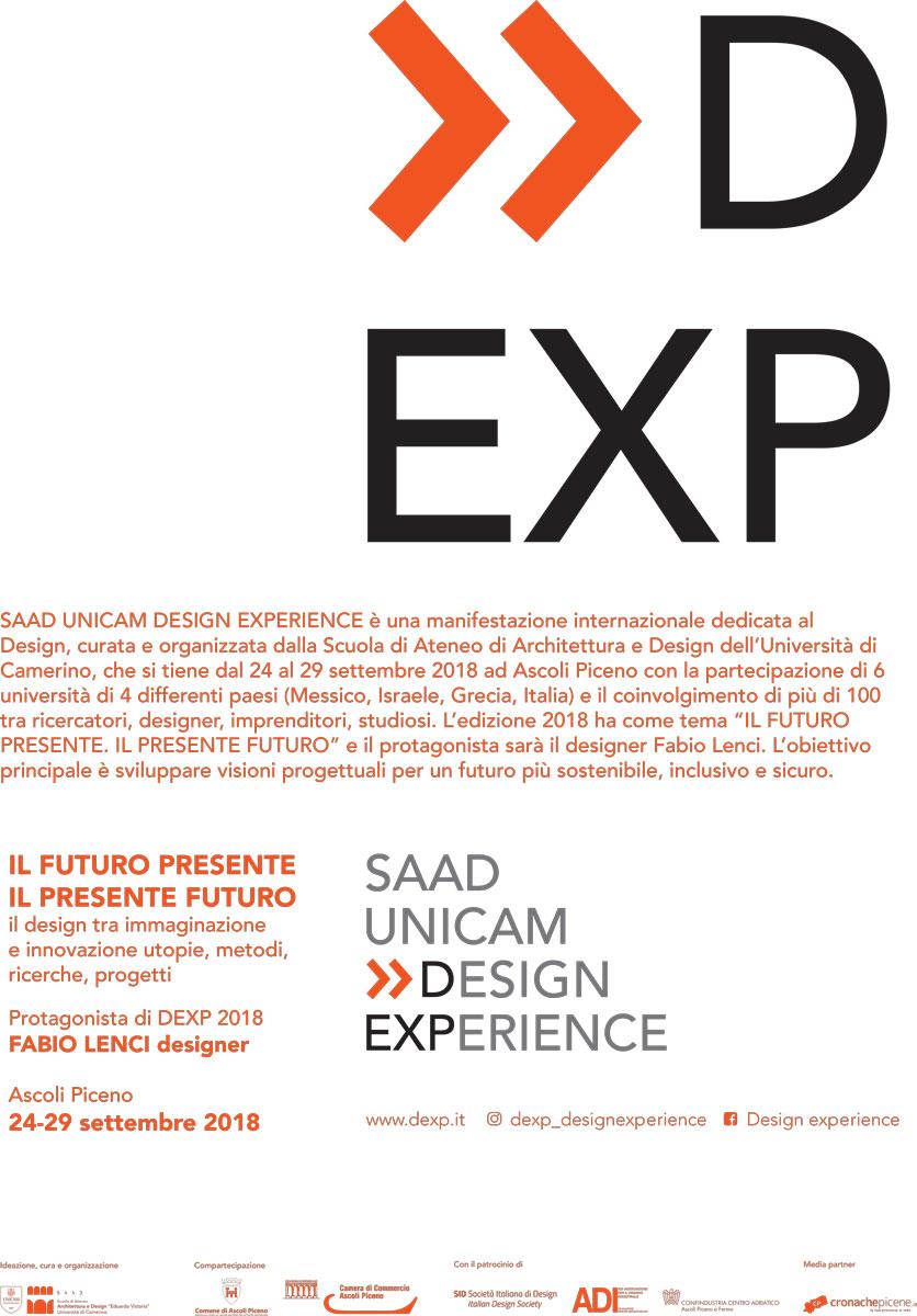Ad Ascoli Piceno la prima edizione della Design Experience Week 2018
