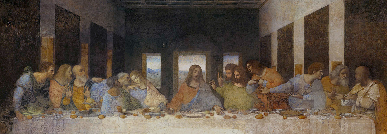 Leonardo. The Last Supper - Milan, Italy