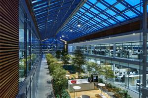 Un bâtiment sobre en énergie : le siège du Groupe Prysmian