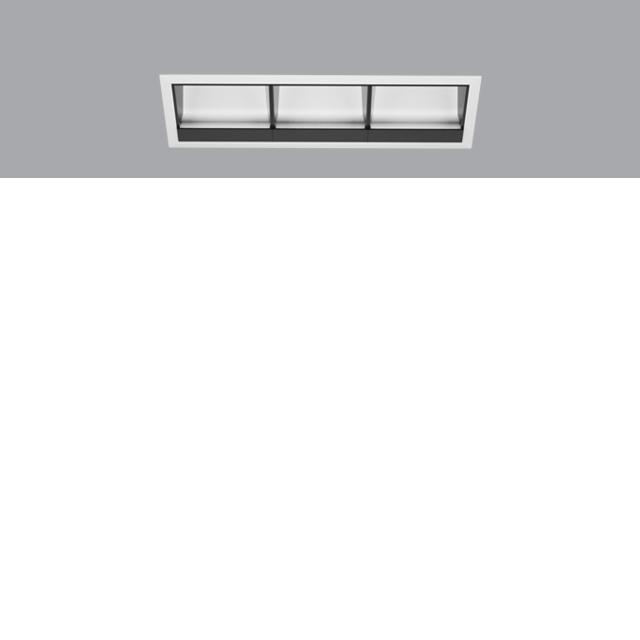 Laser Blade L Wall Washer Triple | Trim