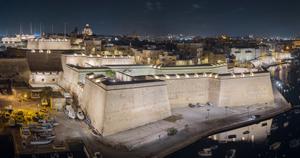 La nueva iluminación de Vittoriosa