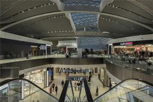 La nueva terminal E del aeropuerto Leonardo da Vinci