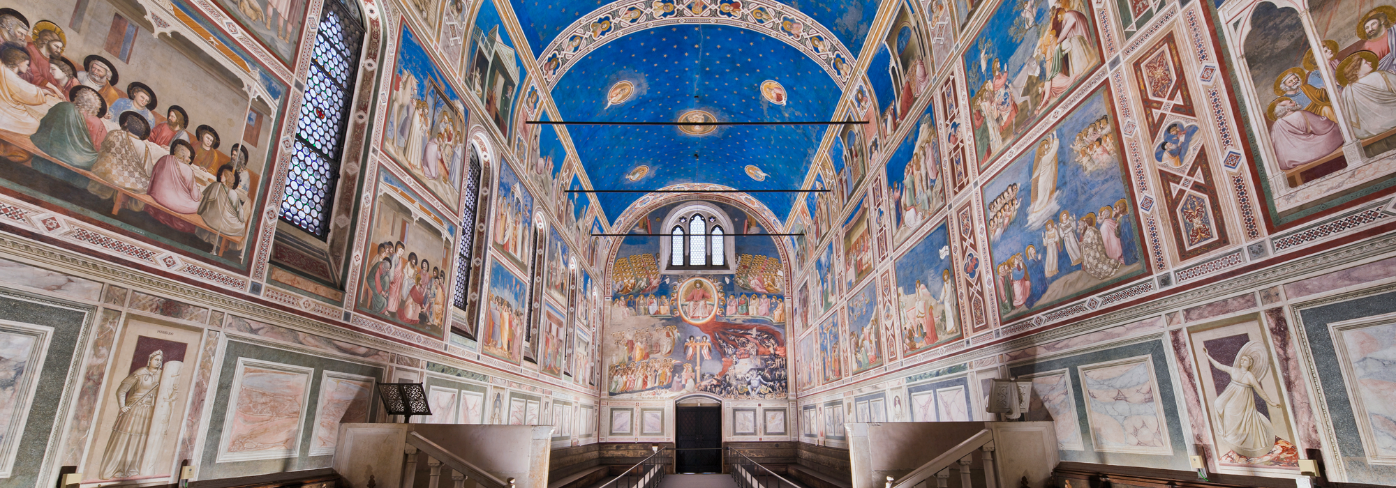 Giotto. The Scrovegni Chapel - Padua, Italy