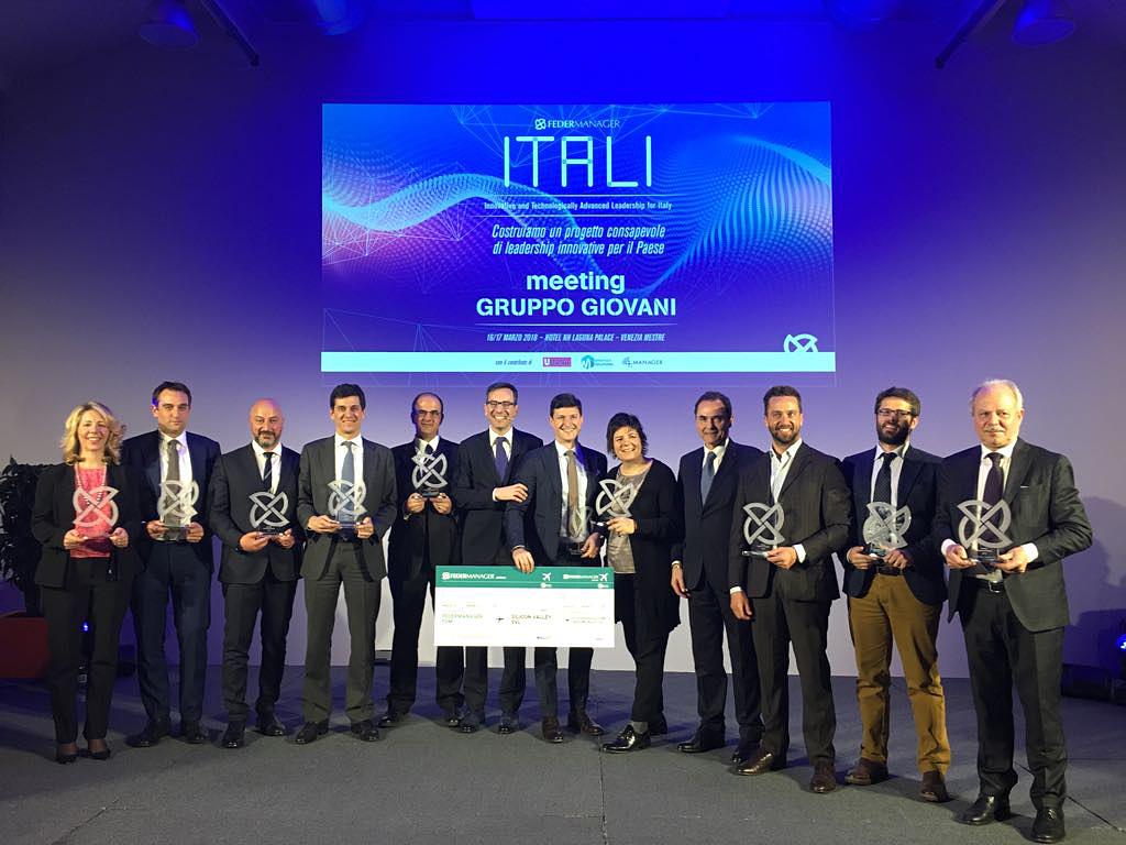 Le meilleur jeune manager d'Italie est le Directeur financier d'iGuzzini