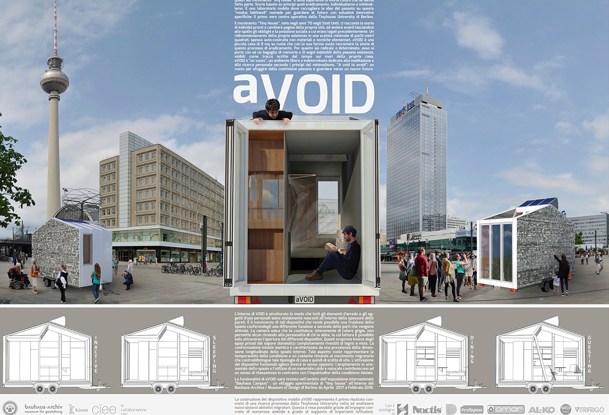 aVOID, la prima tiny house Made in Italy