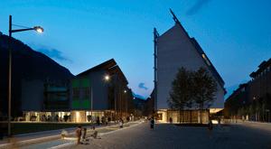 Le Albere. Obras de remodelación de la antigua área de Michelin